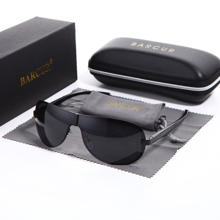 Rimless Sunglasses For Men With Retro Metal Frame,Anti-Reflective - GiftWorldStyle - Luxury Jewelry and Accessories
