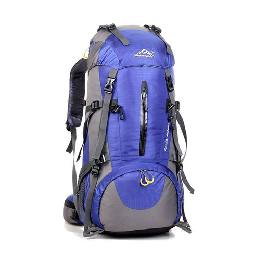 Waterproof Travel 50L Hiking Backpack Sports Backpack Women Men Outdoor Camping Climbing Bag Mountaineering - GiftWorldStyle - Luxury Jewelry and Accessories