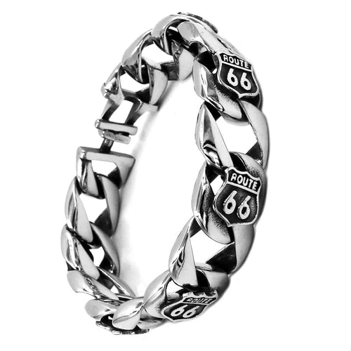 USA Highway Route 66 Motor Bracelet