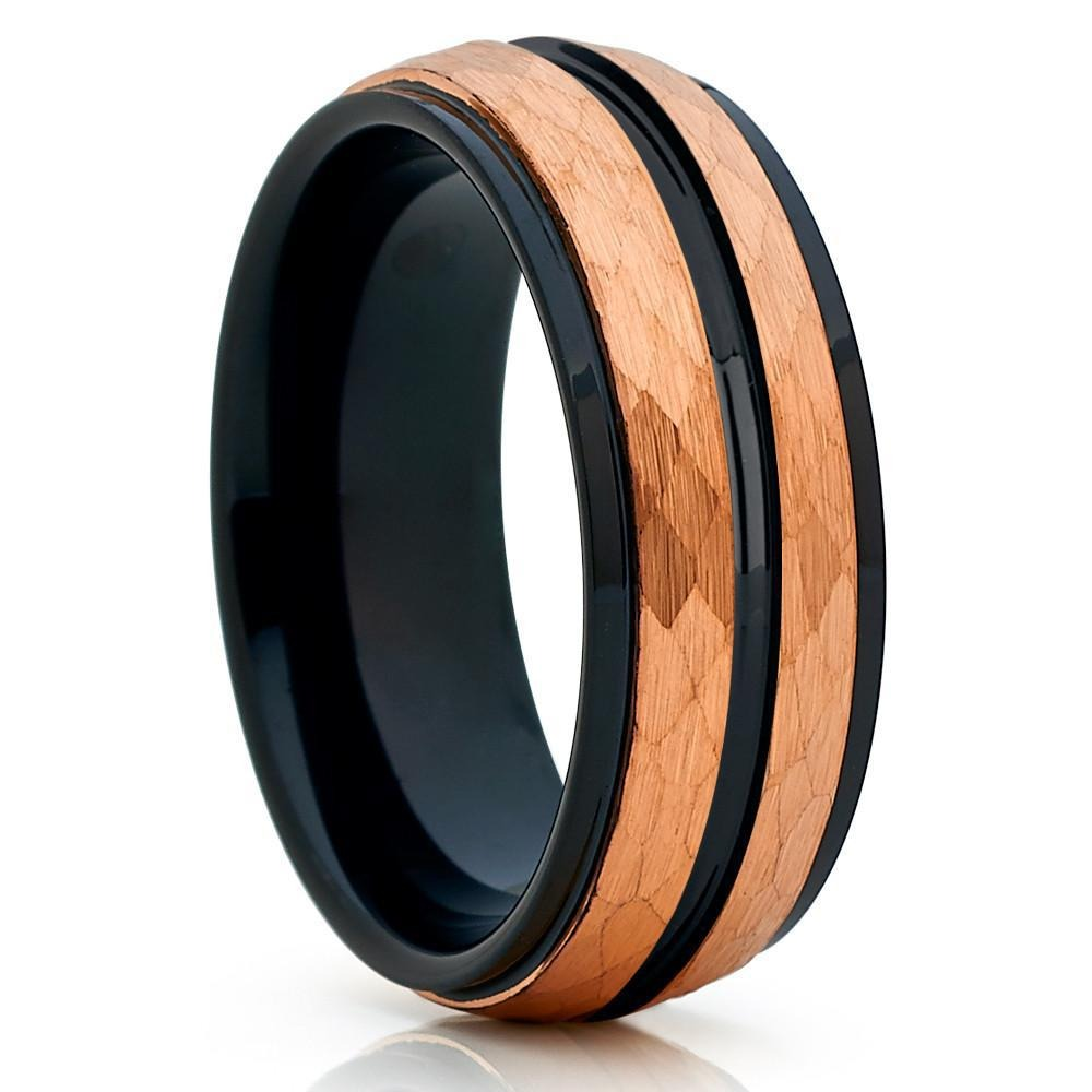 Men's Geometric Tungsten Carbide Ring - GiftWorldStyle - Luxury Jewelry and Accessories