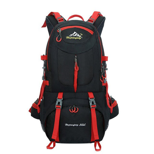 50L Outdoor Bag Men Camping Bag Waterproof Hiking Backpacks Travel Sport Bag Climbing Rucksack - GiftWorldStyle - Luxury Jewelry and Accessories
