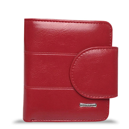 Genuine Leather Women Wallet With Purses For Coin, Card Holder