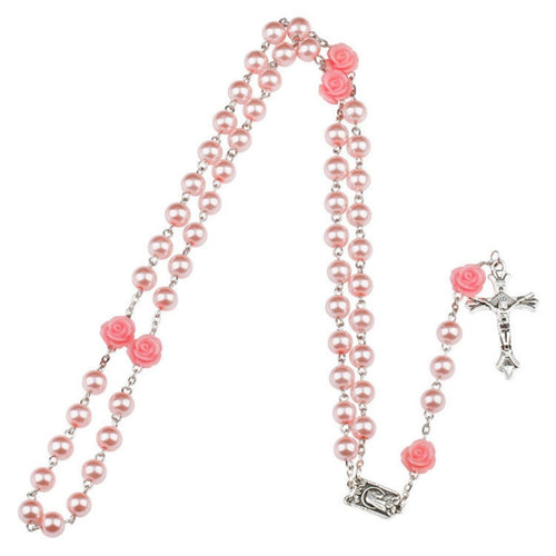 Catholic Religious Rosary With Crystal Prayer Beads,Virgin Mary