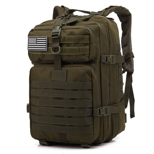 45L Large Capacity Man Army Tactical Backpacks Military Assault Bags Outdoor Pack Trekking Camping Hunting - GiftWorldStyle - Luxury Jewelry and Accessories