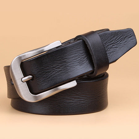 Real Genuine Leather Belt With Girdle Ceinture
