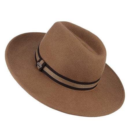 Men's Fedora Hat Retro Wide Brim - GiftWorldStyle - Luxury Jewelry and Accessories