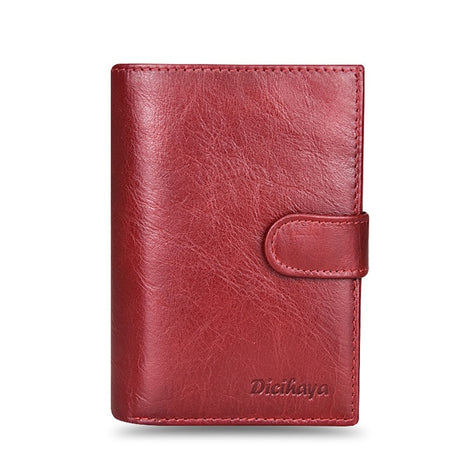 Leather Women Large Wallet With Passport Holder And Organizer