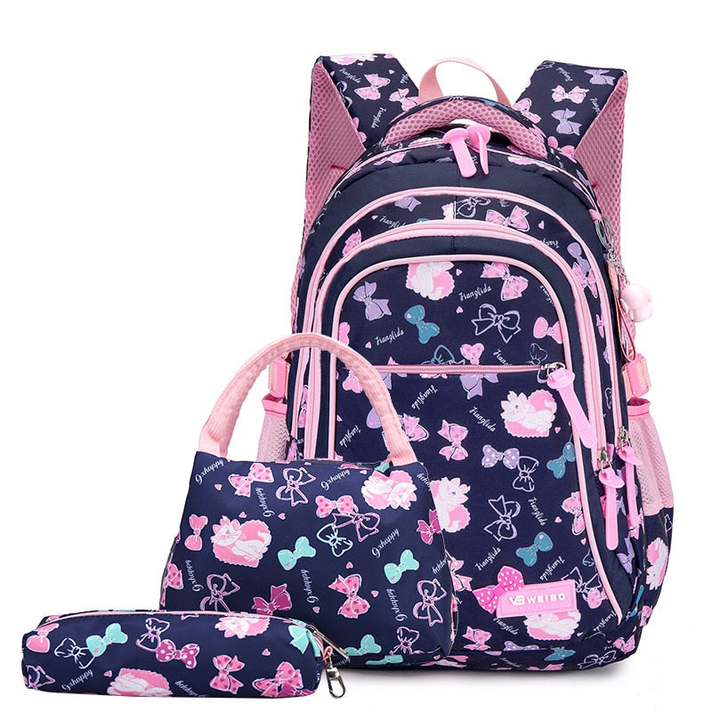 School Bags With Lightweight Waterproof Orthopedics Cloth,Hearts - GiftWorldStyle - Luxury Jewelry and Accessories