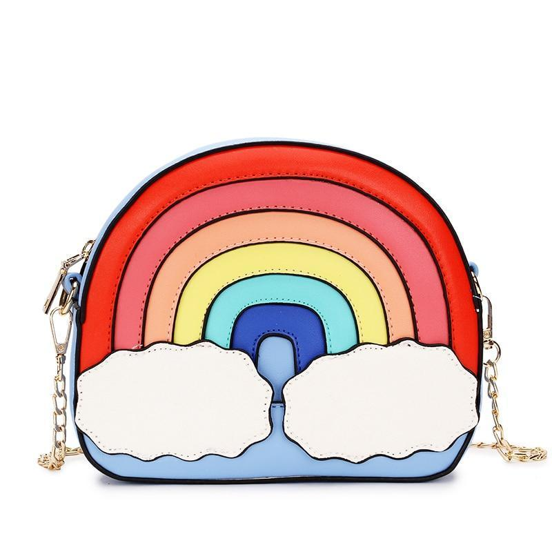 Rainbow Casual Ladies Shoulder Crossbody Handbag - GiftWorldStyle - Luxury Jewelry and Accessories
