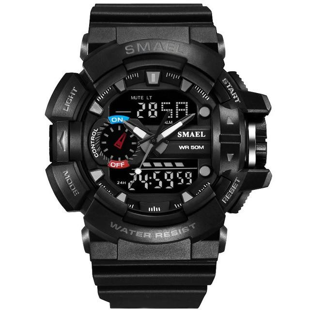 Shock Sport Watch Men 50M Waterproof Digital Watch Military Army Clock Male