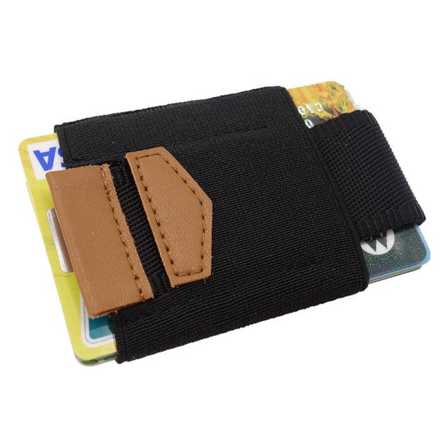Slim Credit ID Card Holder Elastic Magic Minimalist Wallet Card Holders Mini Case Coins Purse for Men Women Porte Carte - GiftWorldStyle - Luxury Jewelry and Accessories