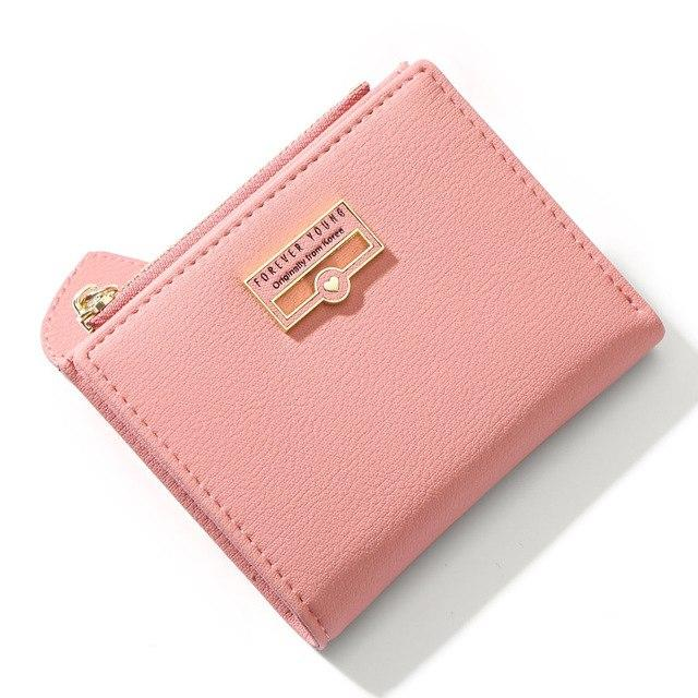 Small Ladies Wallet - Coin Pocket, Card Holder
