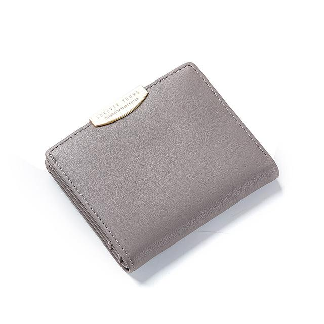 Small Women Wallet Solid Simple