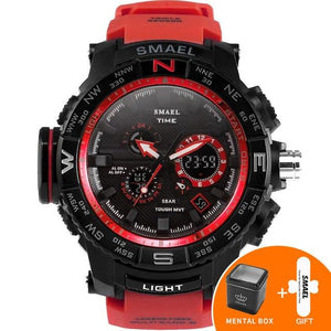 Sport Watch Watches LED Digital Multi-functional Men Clock Led Stopwatch Shock Sport