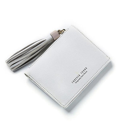 Tassel Women Wallet Ladies Soft Synthetic Leather Card Holder Ladies Purse Female Wallet