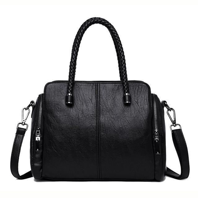 Tote Spanish Leather Handbag For Ladies