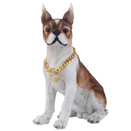Training Choker Collar For Pet Puppy Dog Chain Heavy Gold 316L Stainless Steel Cut Cuban Link