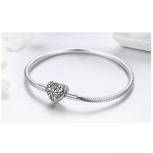 Tree of Life Charm Bracelet Bangle For Women - Sterling Silver - GiftWorldStyle - Luxury Jewelry and Accessories