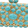 Turquoise Clutch Bag - Diamond Crystal Evening Bag Crystal, Purse - GiftWorldStyle - Luxury Jewelry and Accessories
