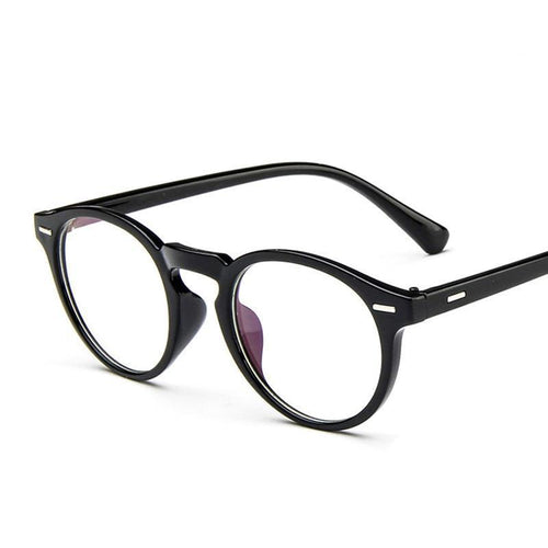 Vintage Retro Round Eyeglasses Women Glasses Optical Eye Glasses Frame - GiftWorldStyle - Luxury Jewelry and Accessories