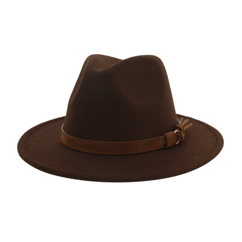 Western Cowboy Hat For Men With Wide Brim And Belt - GiftWorldStyle - Luxury Jewelry and Accessories