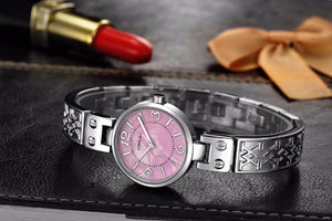 Women's Casual Quartz Watch With Steel Bracelet - GiftWorldStyle - Luxury Jewelry and Accessories