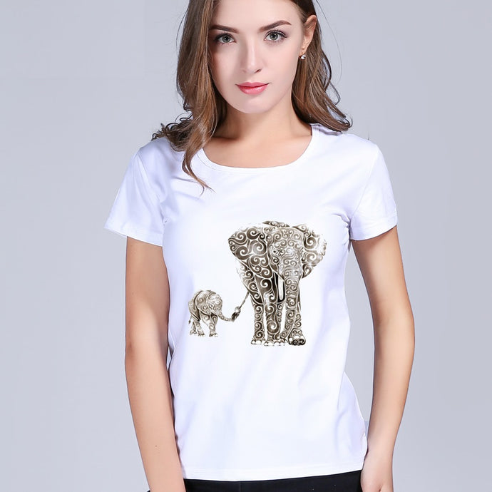 Super Cute Elephant Tshirt