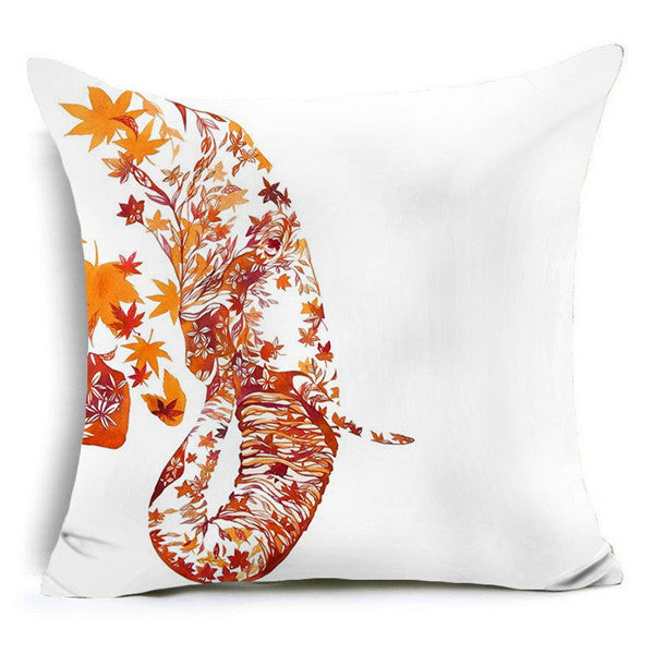 Creative Elephant Pillow Cover