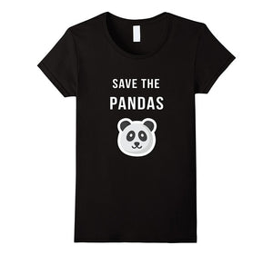Save The Pandas T-Shirt for Women
