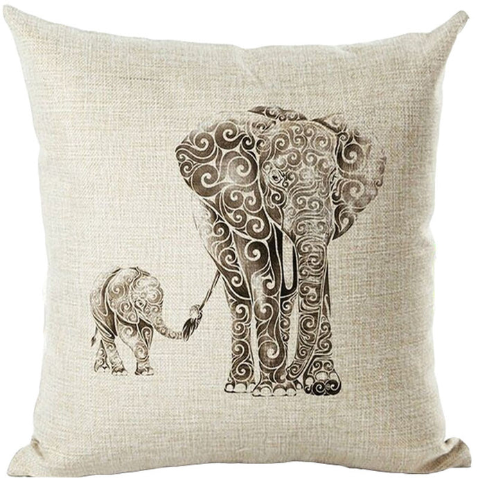 Limited edition Elephant Cushion Cover (45x45cm)