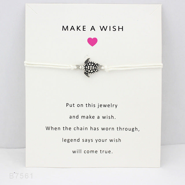Sea Turtles Make a Wish Bracelet