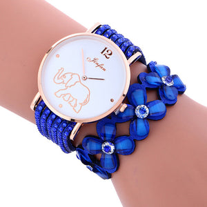 Elephant Wrist Watch with Bracelet