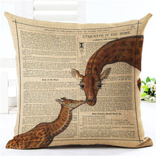 Unique Giraffe Cushion