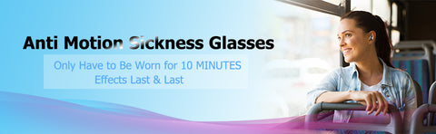 Anti Motion Sickness Seasickness Halo Aircraft Glasses