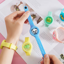 Load image into Gallery viewer, Flashlight Silicone Anti Mosquito Repellent Bracelet