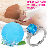 Bath Bomb with Surprise Jewelry Ring Inside