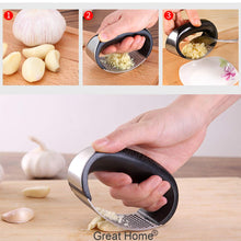 Load image into Gallery viewer, Stainless Steel Garlic Press Rocker