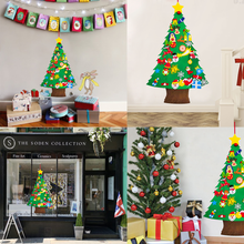 Load image into Gallery viewer, DIY Felt Christmas Tree Ornaments