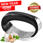 Stainless Steel Garlic Press Rocker