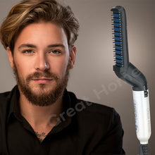 Load image into Gallery viewer, Quick Hair Tame Finish Beard Straightener