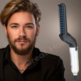 Quick Hair Tame Finish Beard Straightener