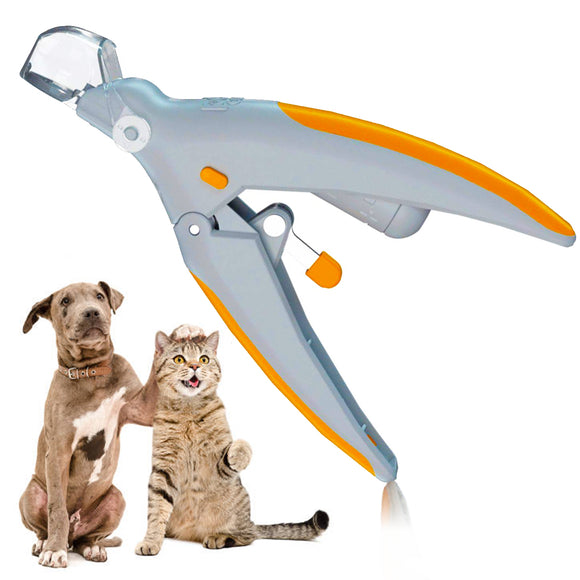 Pet Nail Clipper Trimmer with LED Light