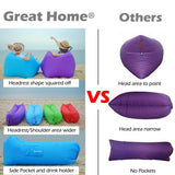 Inflatable Lounger Water Proof Lightweight