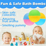 Kids Bath Bombs Surprise Toy Inside