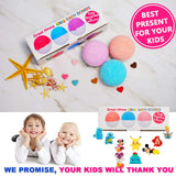 Kids Bath Bombs Surprise Toys Inside 3pcs