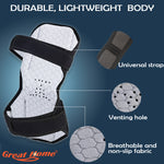 Spring Knee Pad Brace Power Lifts Knee Protection