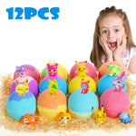 Kids Bath Bombs Surprise Toys Inside 12pcs