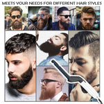 Tame Finish Beard Straightener Quick Hair Styler for Men