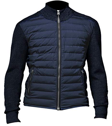 James Bond Spectre Bomber Daniel Craig Quilted Blue Austria Jacket