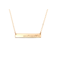 """Unstoppable"" 1.5"" Necklace"